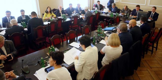 Posiedzenie sejmowej Komisji Sprawiedliwości i Praw Człowieka