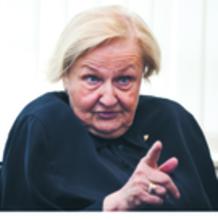 Prof. Ewa Łętowska pierwszy polski rzecznik praw obywatelskich, sędzia Trybunału Konstytucyjnego w stanie spoczynku