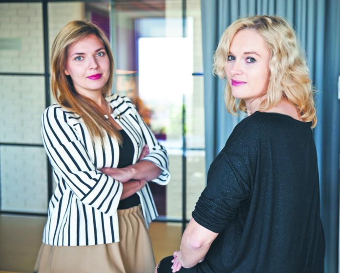 Dr Magdalena Zwolińska, adwokat, kancelaria DLA Piper Wiater (z prawej)