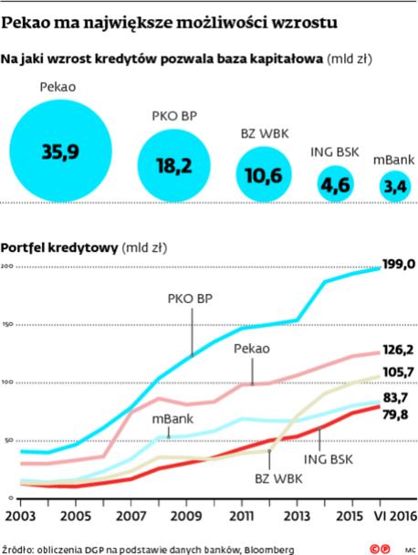 Pekao ma największe możliwości wzrostu