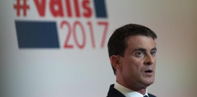 François Hollande może być kamieniem u szyi Manuela Vallsa