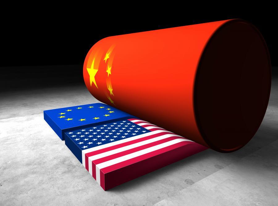 Chiński walec miażdzy powoli kraje Zachodu