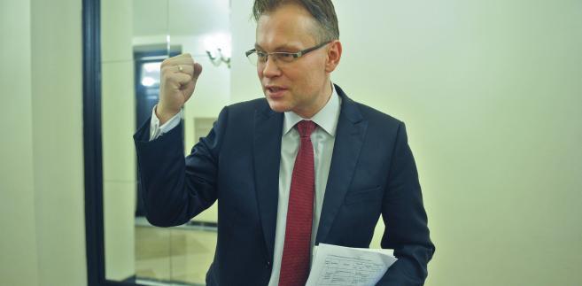 Arkadiusz Mularczyk, poseł PiS, przewodniczący komisji nadzwyczajnej ds. zmian w kodyfikacjach