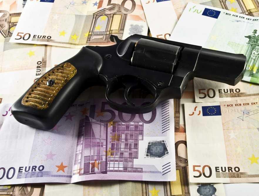 Mafia, pieniądze Fot.Shutterstock