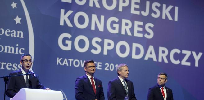 Inauguracja IX Europejskiego Kongresu Gospodarczego w Katowicach
