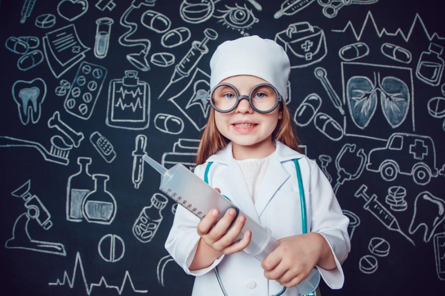 dziecko córka kariera lekarz