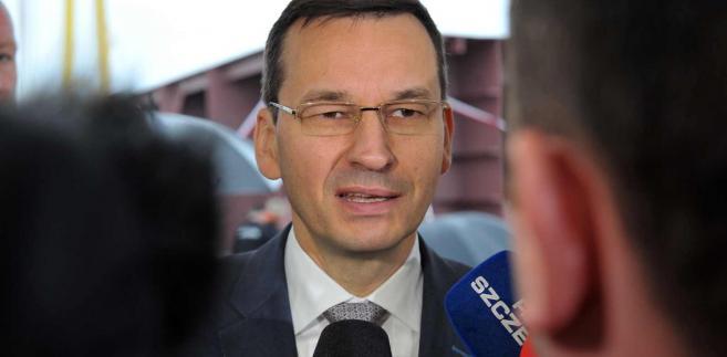 Wicepremier Mateusz Morawiecki znalazł sposób na bezpieczne pożyczanie pieniędzy