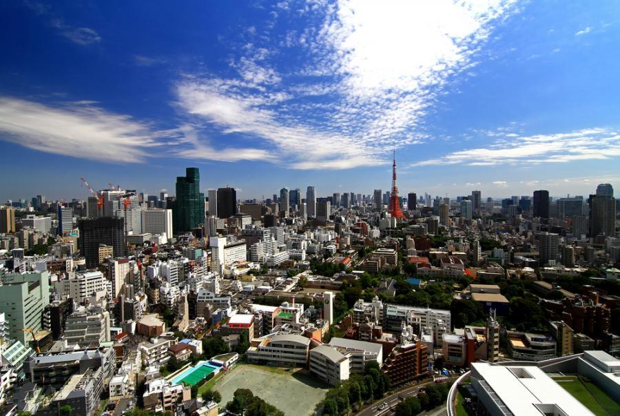 Tokio, stolica Japonii.