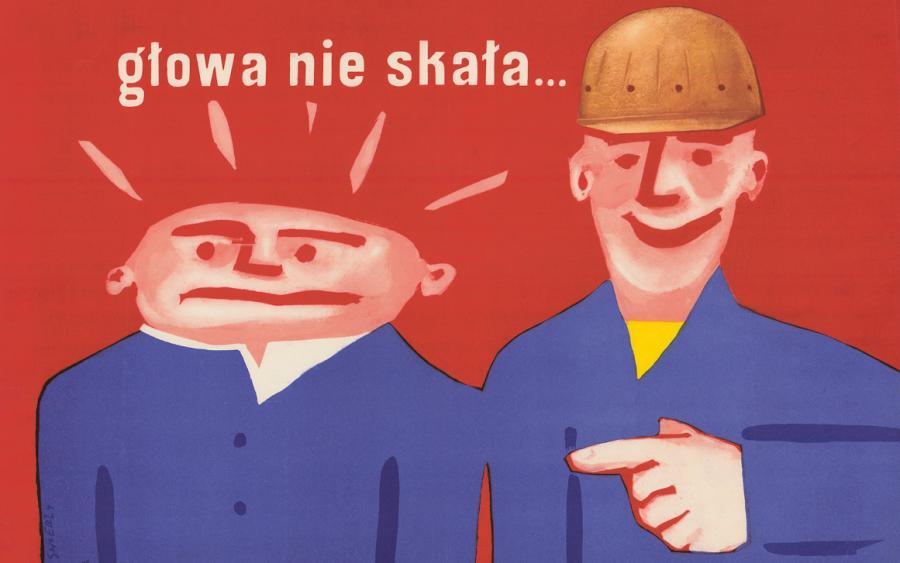 Plakaty Propagandowe Prl Zdjęcie Kultura Serwis
