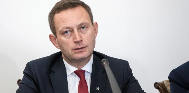 Paweł Rabiej, kandydat Nowoczesnej na prezydenta Warszawy