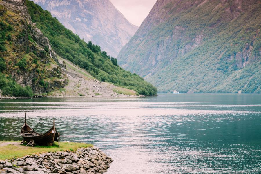 Sognefjord, Norwegia