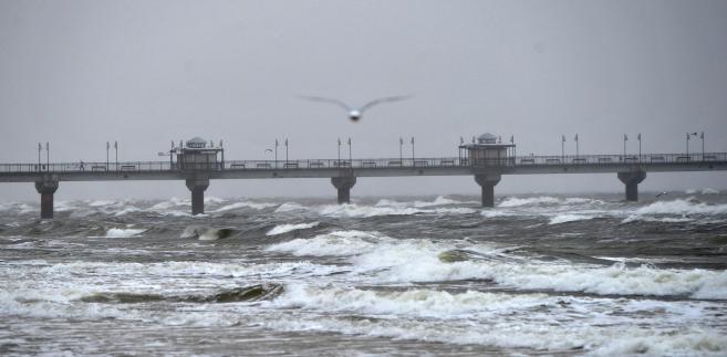 Orkan Grzegorz dotarł do Polski