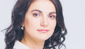 Hanna Hopko, szefowa komisji spraw zagranicznych parlamentu Ukrainy