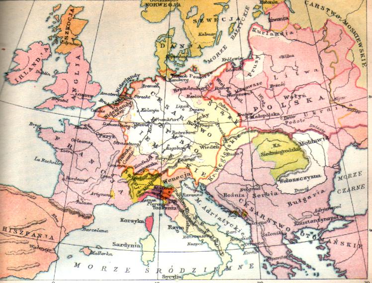Europa w XVII wieku
