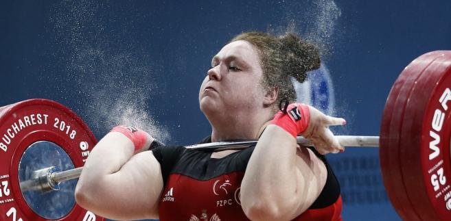 Aleksandra Mierzejewska zdobyła złoty medal w kat. +90 kg w mistrzostwach Europy w podnoszeniu ciężarów w Bukareszcie.
