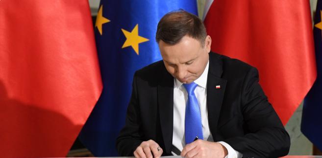 prezydent Duda przedstawi Sejmowi swoją inicjatywę przed wakacjami