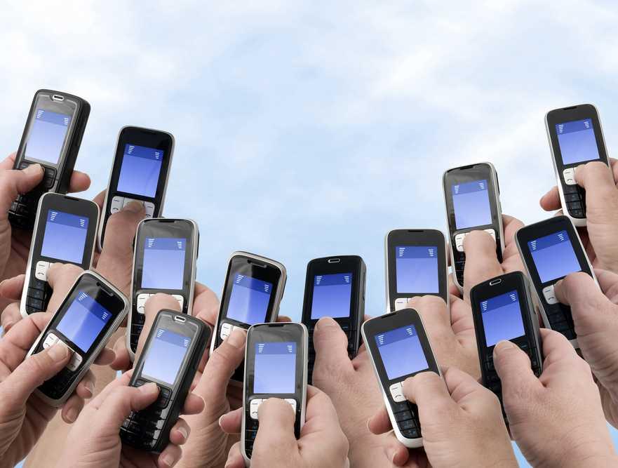 SMS-y, telefony