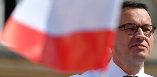 """""""My mamy nasz program, nasz program to jest Polska i nasz program to jest wszystko to, co robimy"""" - powiedział. """"Jesteśmy wiarygodni w rządzie i będziemy wiarygodni w samorządzie"""" - zapewnił Morawiecki"""