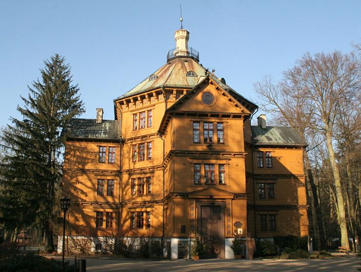 Pałac myśliwski książąt Radziwiłłów w Antoninie, fot. Grubel / CC-BY-SA