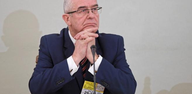 Były prokurator generalny Andrzej Seremet zeznawał przed Komisję Śledczą