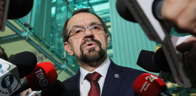"""Jak przekazał sędzia Rączka, sędziowie, których objęło postanowienie TSUE """"są stopniowo, na nowo włączani w normalny rytm pracy SN""""."""