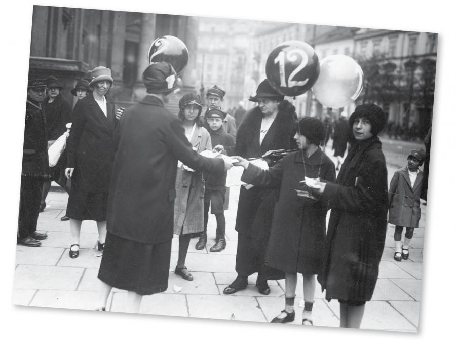 Kampania wyborcza w Warszawie, 1927 r.