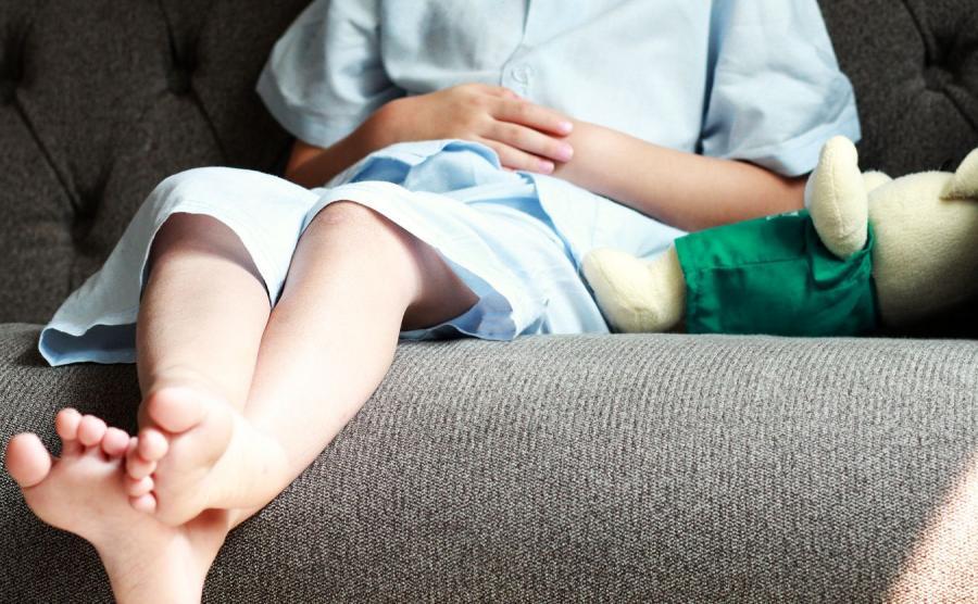 Dziecko w szpitalu. Zdjęcie ilustracyjne