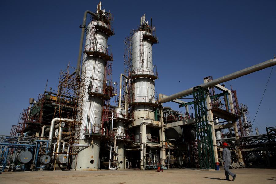 Rafineria naftowa w miejscowości Karachi w Pakistanie.