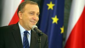 Marszałek Sejmu Grzegorz Schetyna otwiera listę PO numer 1 w woj. dolnośląskim.