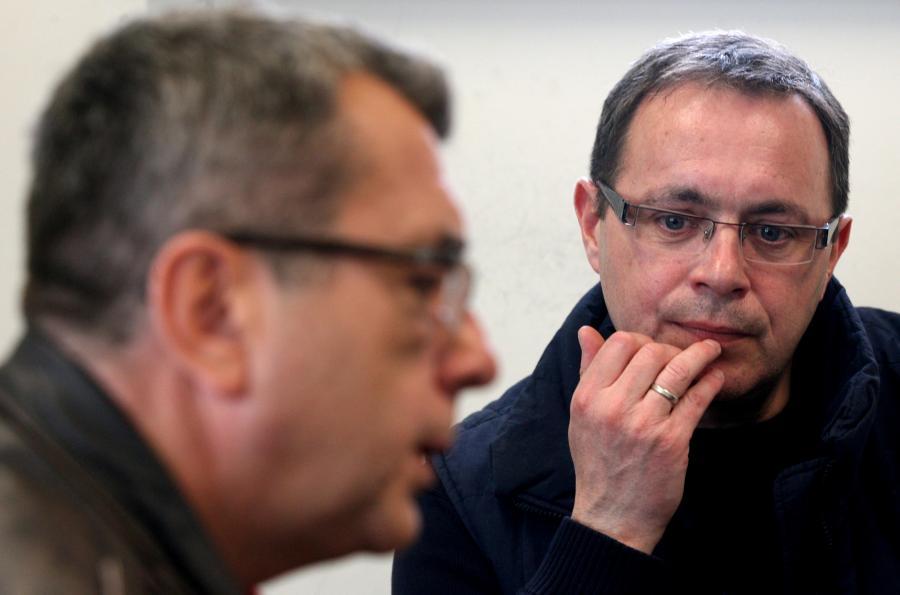 Grzegorz Miecugow i Tomasz Sianecki
