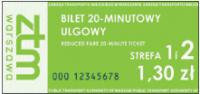 Biletu jednorazowego nie można przekazać