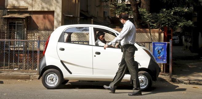 Najtańszy samochód świata - Tata Nano