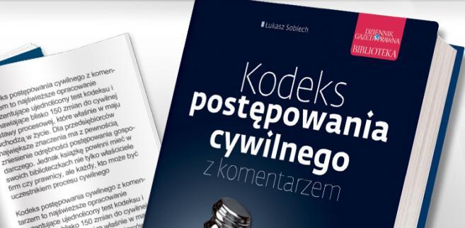 e-book: Kodeks postępowania cywilnego z komentarzem