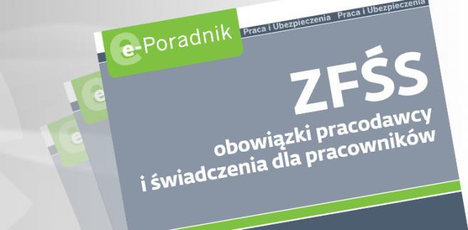 e-book: ZFŚS obowiązki pracodawcy i świadczenia dla pracownika
