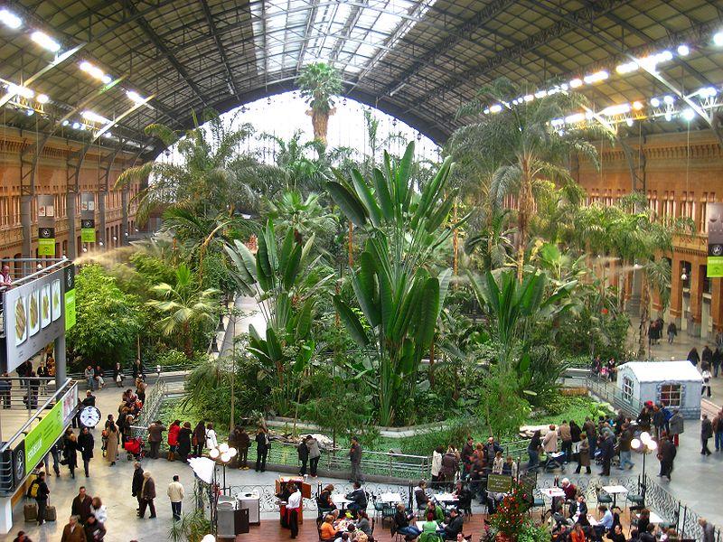 Stacja Atocha w Madrycie