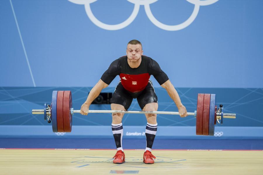 Polak Adrian Zieliński zdobył złoty medal w podnoszeniu ciężarów w kategorii 85 kg