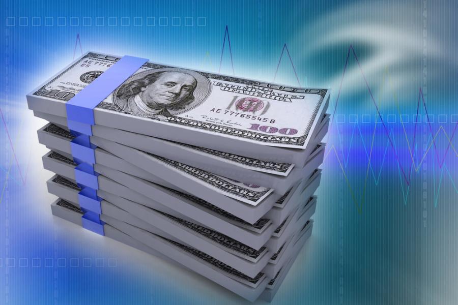 finanse, pieniądze, dolary
