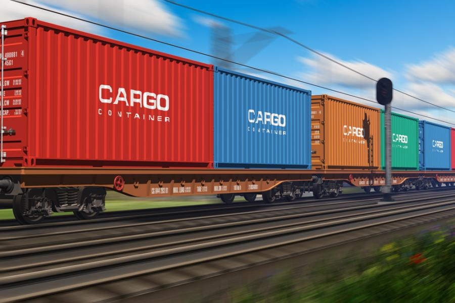 tranzyt, cargo, koleje, transport